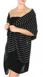 wholesale S86A Oversized woven stripe scarf