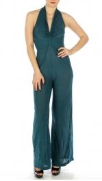 wholesale K16 Jumpsuit halter top Coral fashionunic
