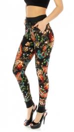 Wholesale E37 Jogger pants Floral garden fashionunic