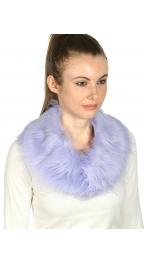 wholesale M15 Faux fox fur collar snap button LV
