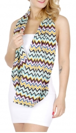 wholesale H45D Chevron Infinity Scarves