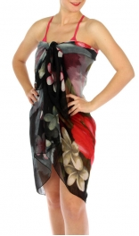 wholesale K10 Tropical flower pareo BK fashionunic