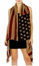 Wholesale O00A Americana Design Knit Vest AMF