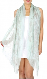 Wholesale I39A Lightweight paisely pattern summer scaf Dozen