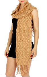 Wholesale Q58 Oblong knit scarf CM