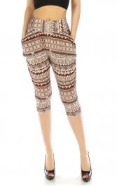 wholesale M13 Tribal abstrct Capris pants BR