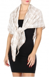 Wholesale S21A Whipstitch triangle scarf