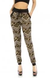 Wholesale C18 Two pocket camouflage chevron jogger pants