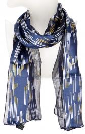 Wholesale O42B Stripe drop satin scarf