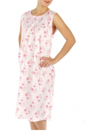 wholesale M02 Cotton blend heart nightgown PK XL
