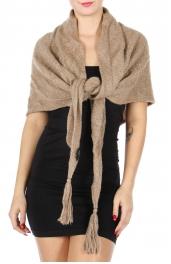 Wholesale S15B Tassel triangle scarf