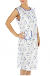 wholesale M02 Cotton blend heart nightgown BU XL
