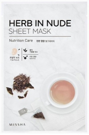 Wholesale MISSHA Herb In Nude Sheet Mask [Nutrition Care] 23g (5 pack)