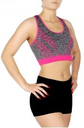 wholesale G36D Activewear bra Neon Pink