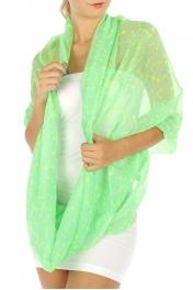 wholesale I34Dragonfly infinity scarf Mint fashionunic