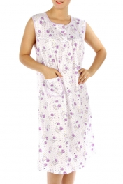 wholesale M02 Cotton blend heart nightgown PP L