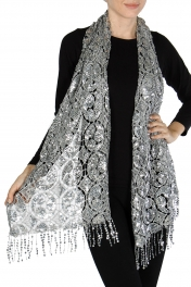 Wholesale H03C Sequin scarf