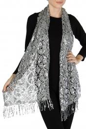 Wholesale H03C Sequin scarf