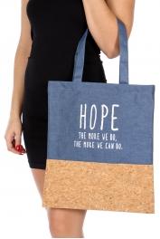 Wholesale T10B Cotton blend eco-friendly tote bag BL