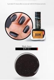 Wholesale OF2 Classic jeans nail polish Black Jean