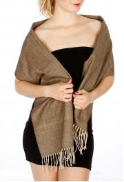 Wholesale Q57 Cashmere Feel Woven scarf BRBG