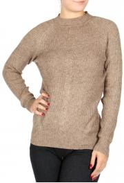 Wholesale U15D Ribbed crewneck sweater Black