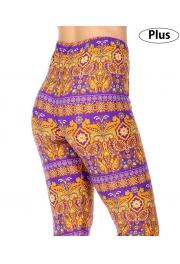 Wholesale Y36C NEW MIX Dynamic soft brushed leggings PLUS SIZE
