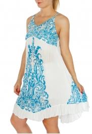 Wholesale I43A Damask Spaghetti Strap Dress FU