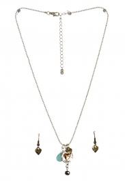 wholesale Love theme pendant necklace set SBMT fashionunic