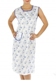 wholesale M02 Cotton blend heart nightgown BU L