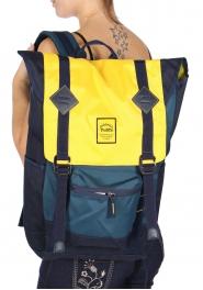 Wholesale U11B Backpack Navy/Yellow