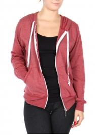 Wholesale G04B Cotton blend solid hoodie with pockets Black