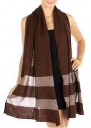wholesale S06 Knit Span Metallic Wrap BR fashionunic