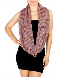 Wholesale S74A Knit Infinity Scarf LVPN