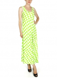 wholesale L23 Watercolor diamond dress Pink fashionunic