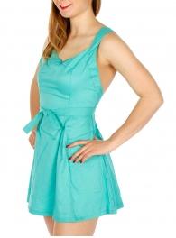 Wholesale K15B Cross Back Dress Berry Pink