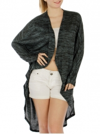 Wholesale K31 Open long cardigan Indigo
