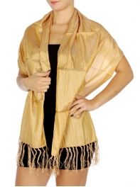 WholesaleN12D Silky Evening Shawl GD