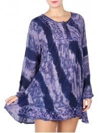 Wholesale S60C Embroidered border tunic