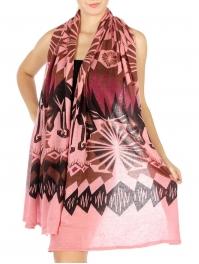 wholesale R57 Geometric print knit scarf PK fashionunic