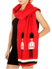 Wholesale R85 Queen's guard knit scarf RD fashionunic