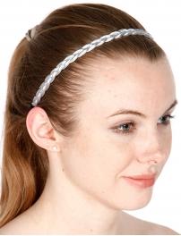wholesale Sequin and metallic accent headband fashionunic