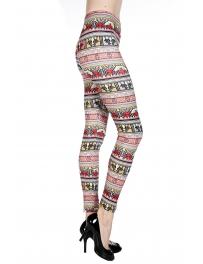 wholesale A03 Funky Style Tribal Pattern Leggings Black