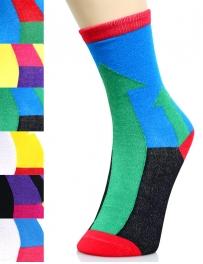 wholesale K58 Dozen up arrow print crew socks