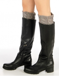 Wholesale BX00 Multi spacedye knit boot toppers L.Grey