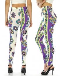 wholesale A35 Naomi Geometric Design leggings