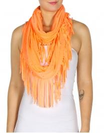 wholesale Specks on fringed infinity scarf LM fashionunic