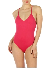 wholesale K18 Solid one piece swimsuit FS fashionunic