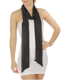 wholesale Polka dot sash scarf BK fashionunic