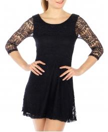 Wholesale G05 Lace layered dress Navy